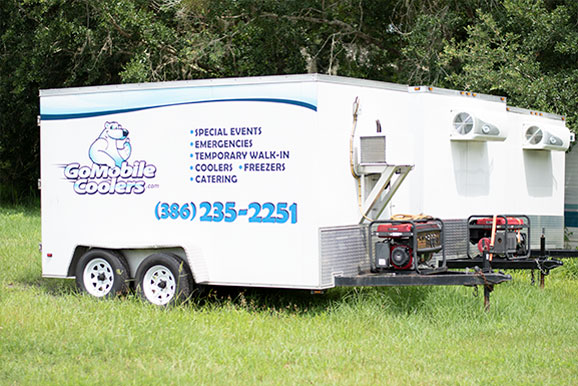 Go Mobile Coolers Refrigerated Trailer Rental Daytona Fl