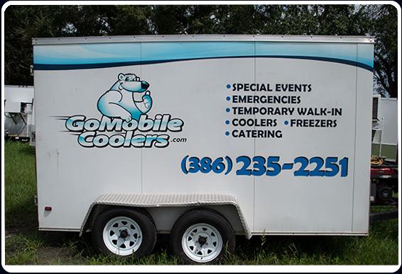 Go Mobile Coolers | Refrigerated Trailer Rental Daytona FL